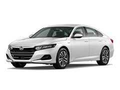 New 2021 Honda Accord Hybrid Base Sedan 1HGCV3F17MA006153 in Bakersfield, CA