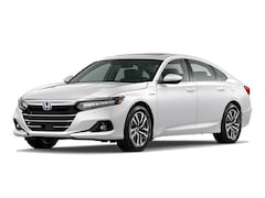 New 2021 Honda Accord Hybrid EX-L Sedan 1HGCV3F54MA003729 in Bakersfield, CA