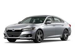New 2021 Honda Accord Hybrid Touring Sedan 21173 for Sale in Springfield, IL, at Honda of Illinois