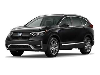 New 2021 Honda CR-V Hybrid Touring SUV near Dallas