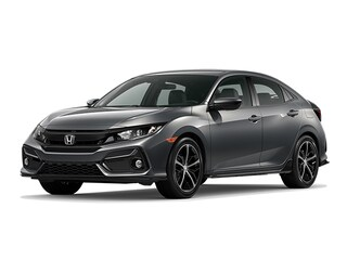New 2021 Honda Civic Sport Hatchback for sale in Houston, TX