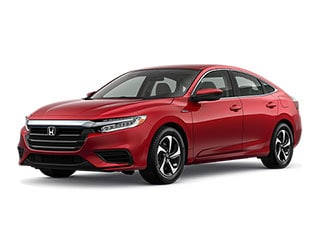 2021 Honda Insight Sedan Radiant Red Metallic