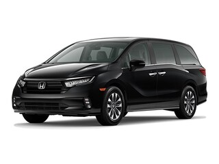 New 2021 Honda Odyssey EX-L Van 8141E for Sale in Smithtown, NY, at Nardy Honda Smithtown