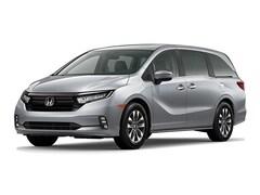 New 2021 Honda Odyssey EX-L Van 5FNRL6H71MB019859 in Bakersfield, CA