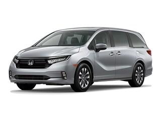 New 2021 Honda Odyssey EX-L Van 210121X in Springfield, PA