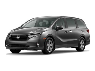 New 2021 Honda Odyssey EX Van 8761E for Sale in Smithtown, NY, at Nardy Honda Smithtown