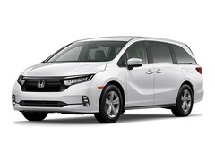 New 2021 Honda Odyssey EX Van 5FNRL6H54MB027985 in Nampa at Tom Scott Honda