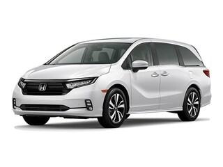 New 2021 Honda Odyssey Touring Van 5FNRL6H87MB000435 for sale in Fairfield, CA at Steve Hopkins Honda