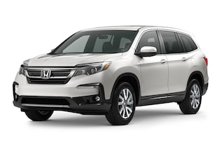 New 2021 Honda Pilot EX-L SUV 8067E for Sale in Smithtown, NY, at Nardy Honda Smithtown