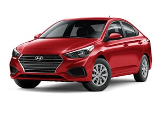 2021 Hyundai Accent Sedan Pomegranate Red