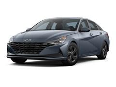 2021 Hyundai Elantra HEV Blue Sedan