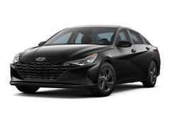 2021 Hyundai Elantra Blue Car