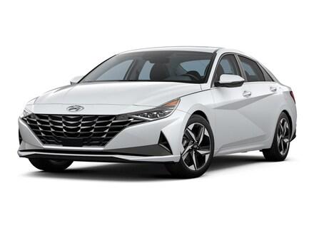 Featured New 2021 Hyundai Elantra Hybrid Limited Sedan KMHLN4AJ3MU011579 for sale near you in Peoria, AZ