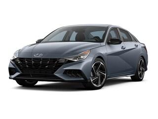 New 2021 Hyundai Elantra N-Line Sedan KMHLR4AF8MU187902 for Sale at D'Arcy Hyundai in Joliet, IL