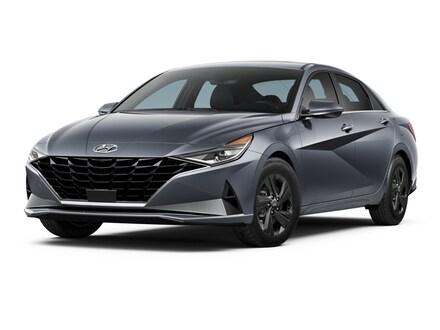 2021 Hyundai Elantra SEL Sedan Portofino Gray
