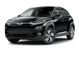2021 Hyundai Kona EV SUV Ultra Black Gray Roof