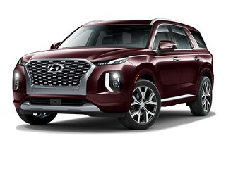 New 2021 Hyundai Palisade Limited SUV KM8R5DHE7MU194505 for Sale at D'Arcy Hyundai in Joliet, IL
