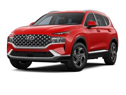 Featured New 2021 Hyundai Santa Fe SEL w/ Convenience + Premium Package SUV 5NMS34AJ7MH357941 for sale near you in Peoria, AZ