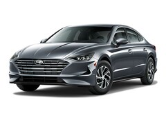 New 2021 Hyundai Sonata Hybrid Blue Sedan St Paul