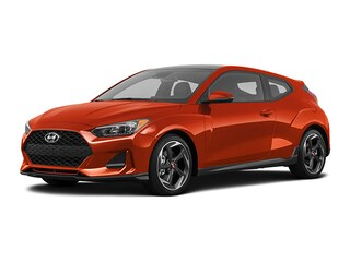 New 2021 Hyundai Veloster Turbo Hatchback KMHTH6AB0MU032322 for sale in Greenville NC