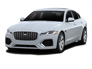 2021 Jaguar XF Sedan Yulong White Metallic