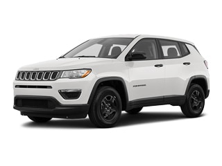 2021 Jeep Compass SUV White Clearcoat
