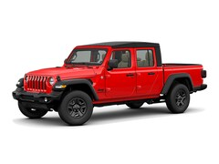 2021 Jeep Gladiator Black Appearance Package 4x4 Crew Cab 5 ft. box