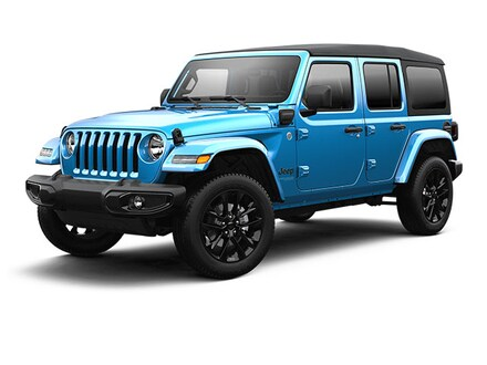 Featured new cars, trucks, and SUVs 2021 Jeep Wrangler 4xe WRANGLER SAHARA 4xe Sport Utility for sale near you in Somerset, PA