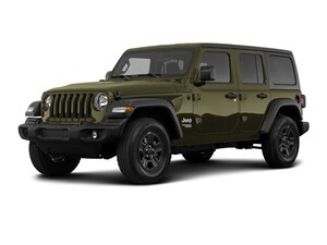 2021 Jeep Wrangler Unlimited Sport 80th Anniversary