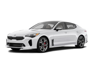 2021 Kia Stinger Sedan Snow White Pearl