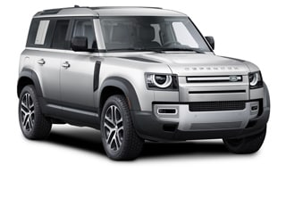 2021 Land Rover Defender SUV Yulong White Metallic