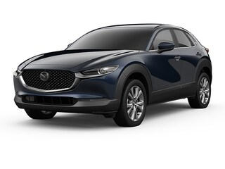 2021 Mazda Mazda CX-30 Preferred Package SUV Deep Crystal Blue Mica