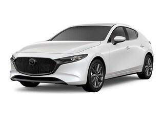2021 Mazda Mazda3 Preferred Package Hatchback Snowflake White Pearl Mica