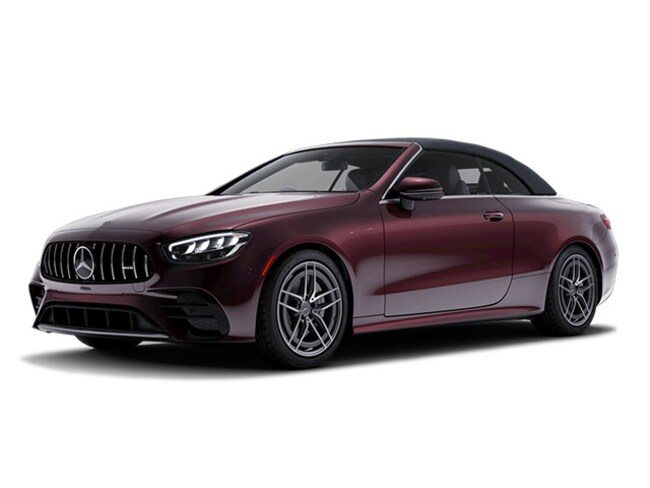 New 2021 Mercedes-Benz AMG E 53 4MATIC CABRIOLET in Hanover, MA