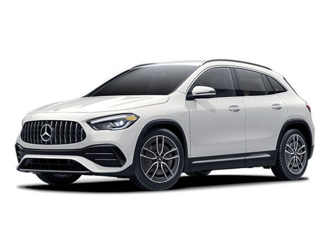 New Mercedes-Benz vehicle 2021 Mercedes-Benz AMG GLA 35 4MATIC SUV for sale near you in Loves Park, IL