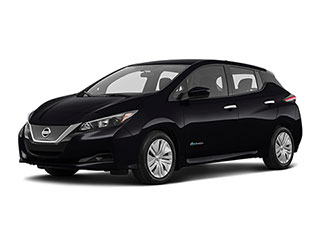 2021 Nissan LEAF Hatchback Super Black