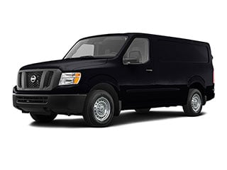 2021 Nissan NV Cargo NV2500 HD Van Super Black