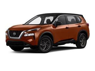 2021 Nissan Rogue SUV Super Black Sunset Drift Chromaflair