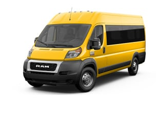 2021 Ram ProMaster 3500 Window Van School Bus Yellow