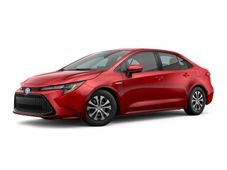 New 2021 Toyota Corolla Hybrid LE Sedan JTDEAMDE2MJ017849 for Sale in Dublin, CA near Livermore