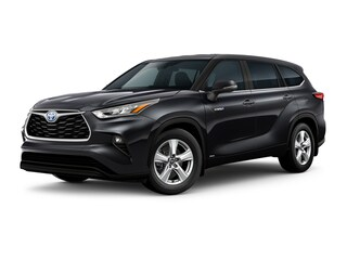 New 2021 Toyota Highlander Hybrid LE SUV for sale near you in Wellesley, MA
