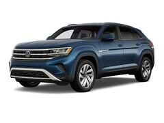 New 2021 Volkswagen Atlas Cross Sport 2.0T SE w/Technology SUV for Sale in Greenville, NC, at Joe Pecheles Volkswagen