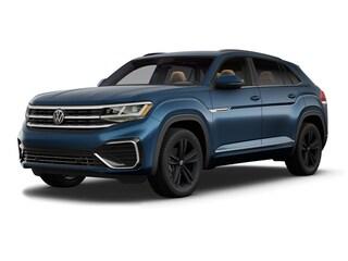 New 2021 Volkswagen Atlas Cross Sport 3.6L V6 SE w/Technology R-Line 4motion SUV in Grand Rapids, MI