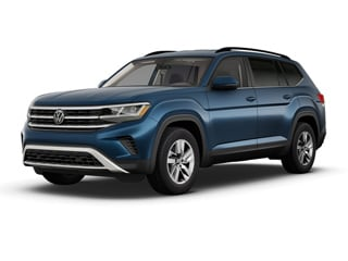 2021 Volkswagen Atlas SUV Tourmaline Blue Metallic