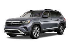 New 2021 Volkswagen Atlas 3.6L V6 SE w/Technology SUV for Sale in Greenville, NC, at Joe Pecheles Volkswagen