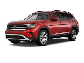 New 2021 Volkswagen Atlas 3.6L V6 SE w/Technology 4MOTION (2021.5) SUV V21270 in Mystic, CT