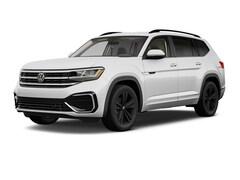 New 2021 Volkswagen Atlas 3.6L V6 SE w/Technology R-Line 4MOTION (2021.5) SUV L210093 in Santa Fe, NM