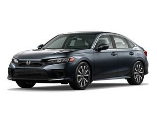 New 2022 Honda Civic EX Sedan near Dallas