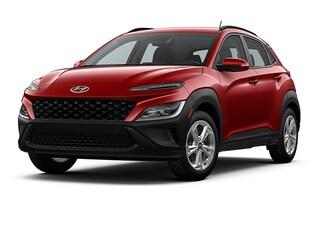 New 2022 Hyundai Kona SEL SUV KM8K6CAB2NU802201 for Sale at D'Arcy Hyundai in Joliet, IL