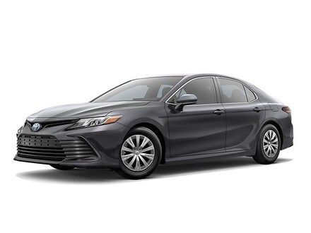 Featured New 2022 Toyota Camry Hybrid LE Sedan for sale near you in Latham, NY